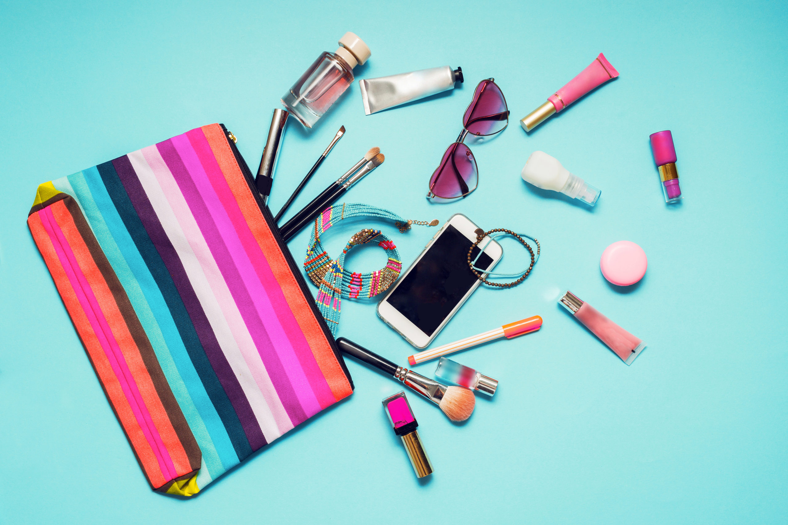 You can tell a lot about a woman from what's in her purse!