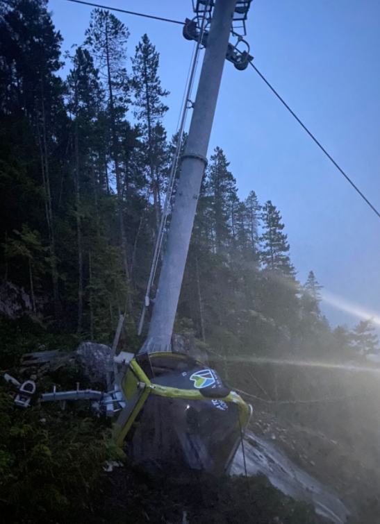 Yet Another Devastating Blow for the Sea to Sky Gondola