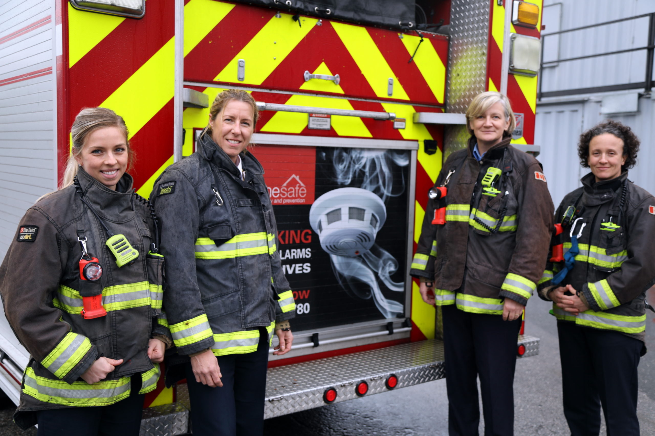 Surrey 'Women's Firefighting' Workshop Aims to Get More Females in the Force