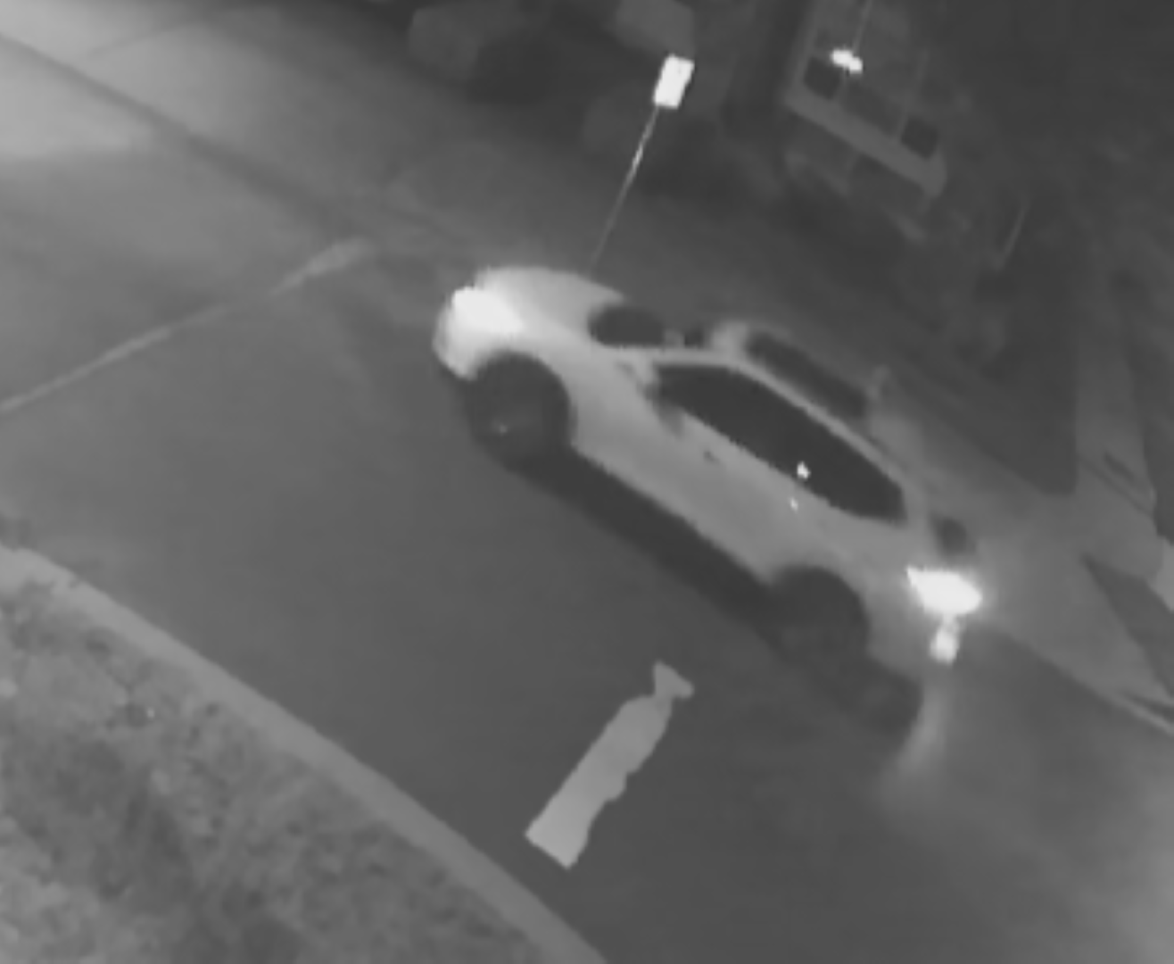 Surrey RCMP release photo of vehicle observed in the area of October 3rd shooting