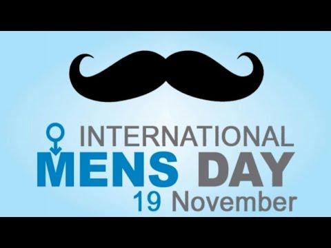 November 19th is International Men's Day!
