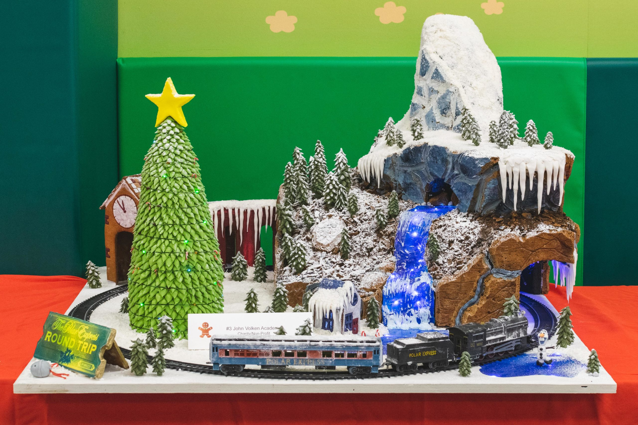 Check out these crazy impressive gingerbread displays at Central City Shopping Centre!