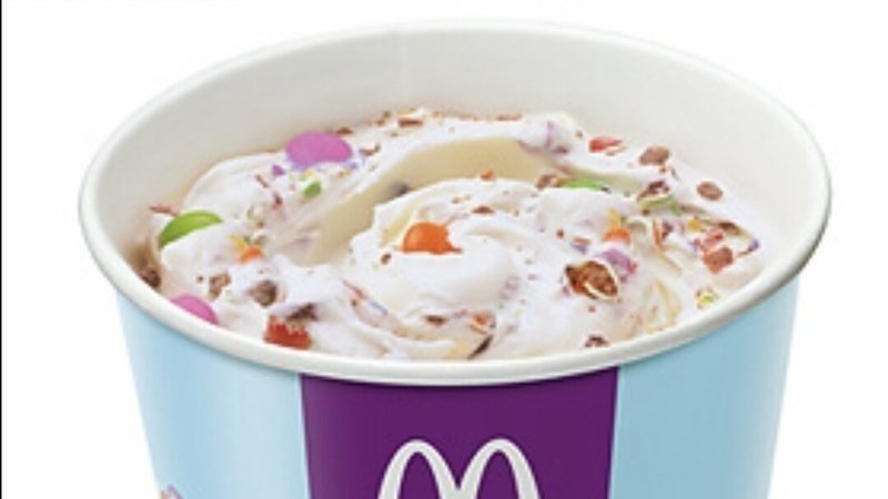 McDonalds Canada Has Brought Back the Smarties McFlurry After a 6 Year Hiatus!