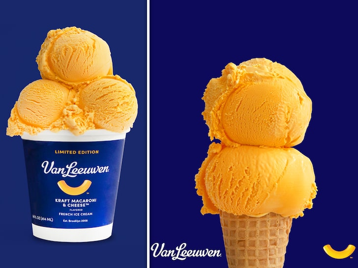 Kraft Dinner Mac & Cheese ICE CREAM Sold Out in 1 Hour